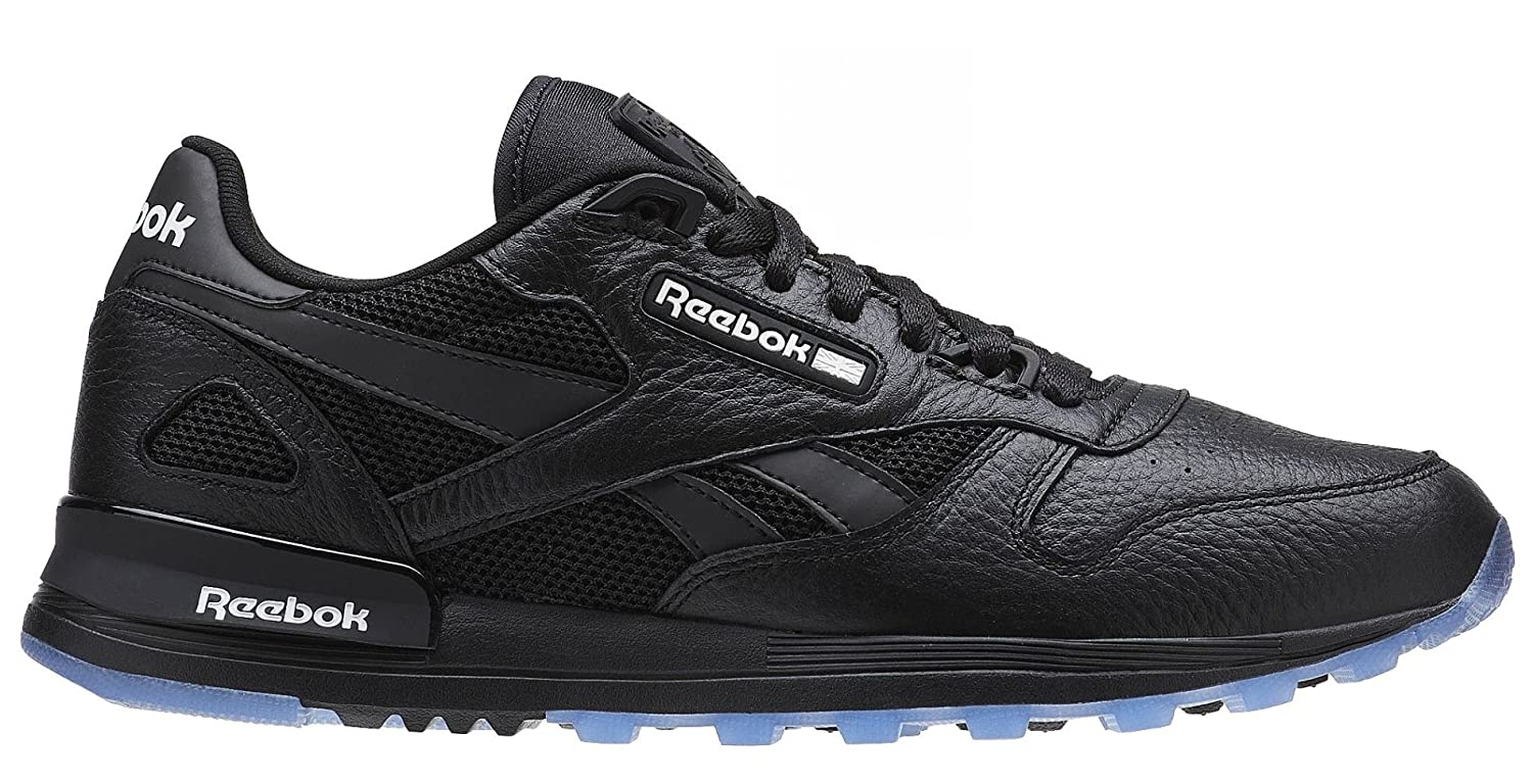 Reebok メンズ B077ZFFV9K 12 D(M) US|Black/White-ice Black/White-ice 12 D(M) US