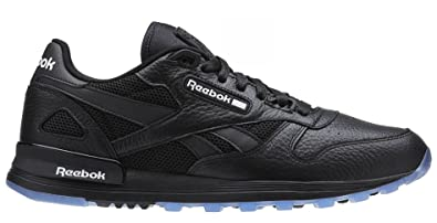 Reebok cl Leather 2.0 Black White-ice Walking Mens Athletic Shoes Size 9.5 c78bff9f2