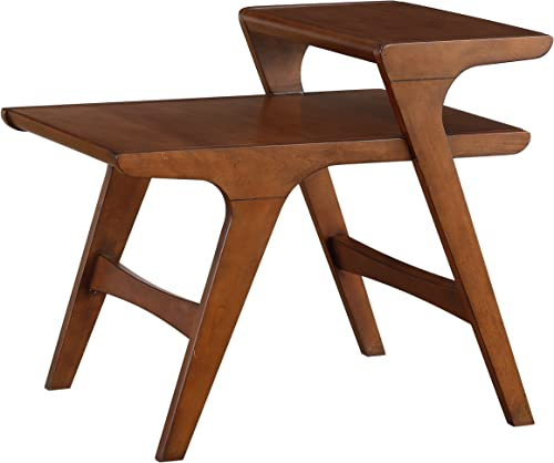 Homelegance Saluki Mid-Century Two-Tier End Table