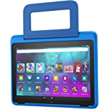 Amazon Kid-Friendly Case for Fire HD 10 tablet (Only compatible with 11th generation tablet, 2021 release), Intergalactic