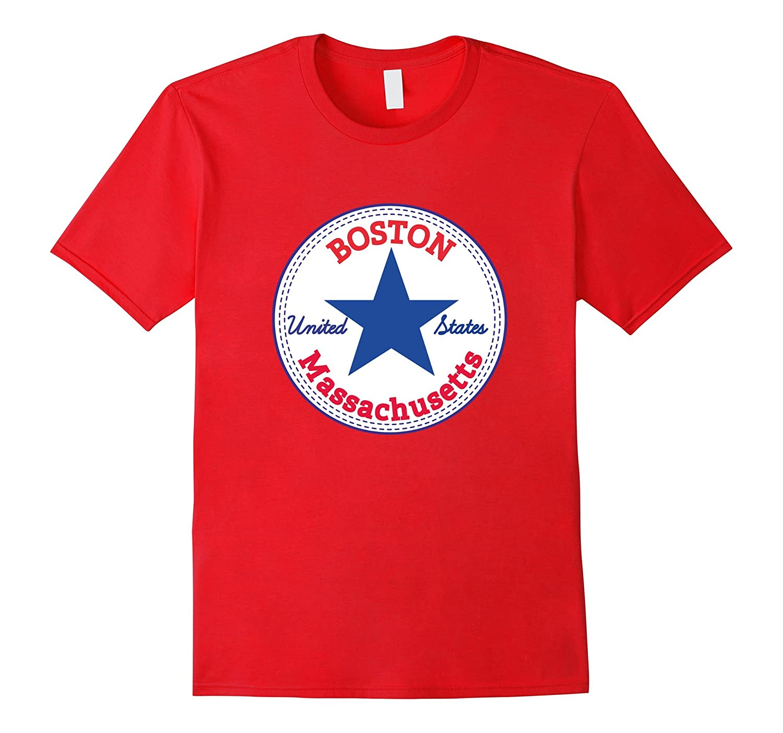 BOSTON - MASSACHUSETTS United States USA relaxed fit T-Shirt-TD