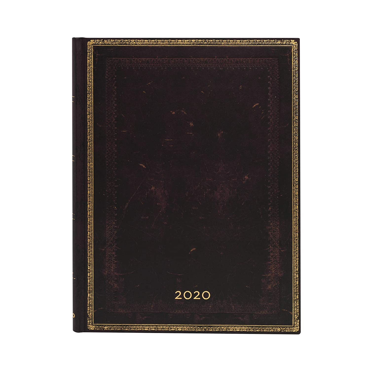 Amazon.com : Paperblanks 12 Month Calendar 2020 Black ...