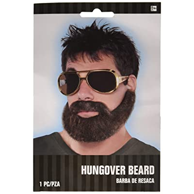 amscan Hungover Beard/Moustache: Toys & Games