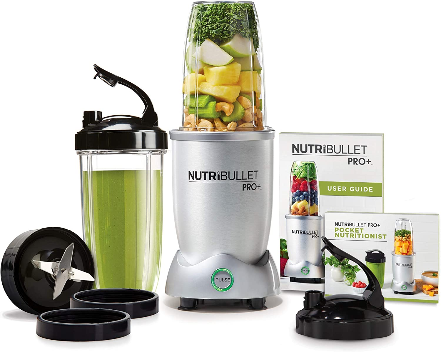 Nutri Bullet N12-1001 NutriBullet Pro Plus One Size Grey (Renewed)