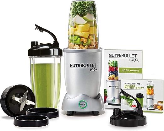 Amazon Com Nutri Bullet N12 1001 Nutribullet Pro Plus One Size Grey Renewed Kitchen Dining