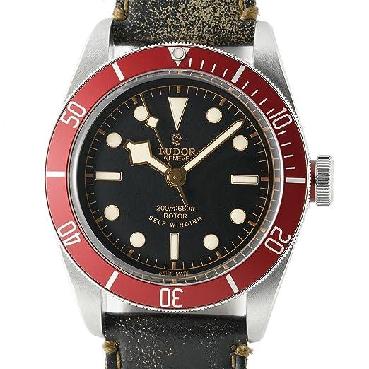 Tudor Patrimonio Negro Bahía Negro automatic-self-wind Mens Reloj (Certificado) de segunda mano: Tudor: Amazon.es: Relojes
