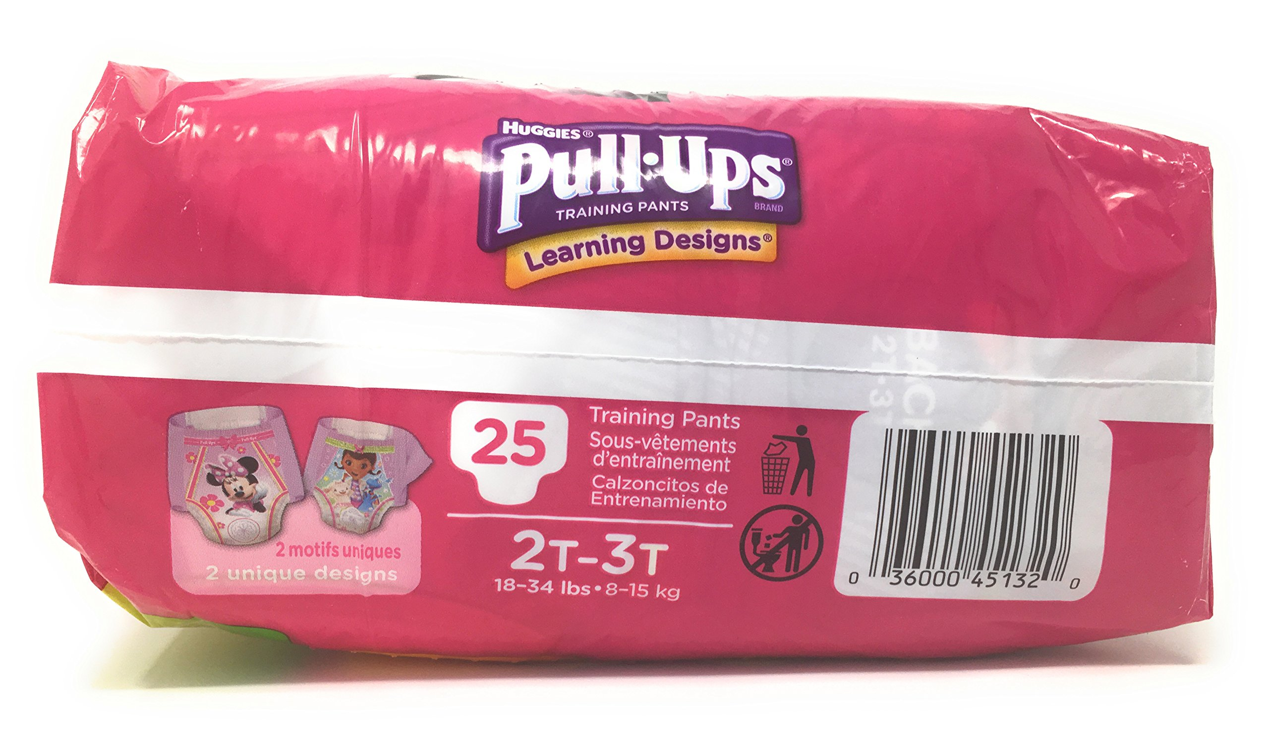 Pull-Ups Learning Designs Training Pants for Girls, 2T-3T