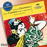 BIZET : Carmen (extraits symphoniques) / ROSSINI : Ouvertures du Barbier de Séville, La Pie voleuse, L'Italienne à Alger, Semiramis, L'Echelle de soie etc