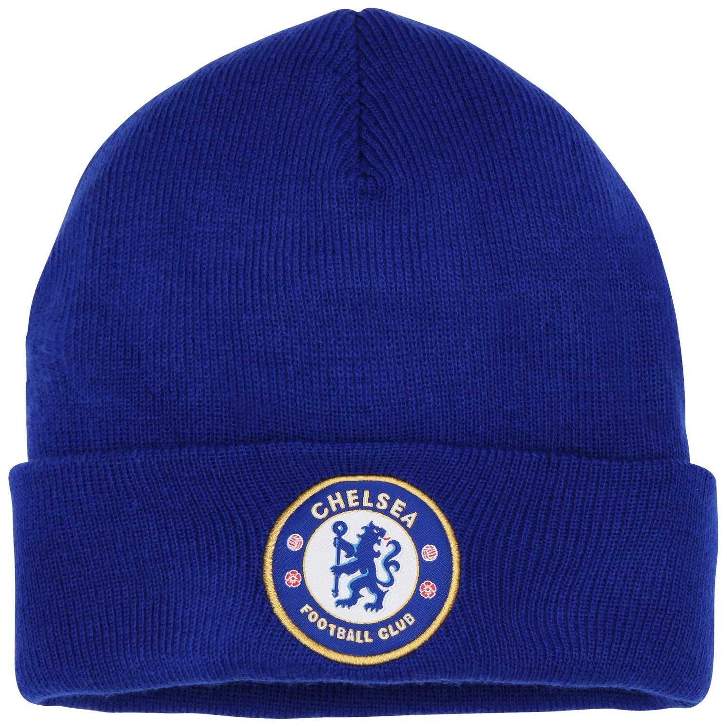 1aeeb842b60 Amazon.com  Official Soccer Football Merchandise Adult Chelsea FC Core  Winter Beanie Hat (One Size) (Royal Blue)  Clothing