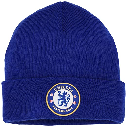 Official Soccer Football Merchandise Adult Chelsea FC Core Winter Beanie  Hat (One Size) c36ca2b5f