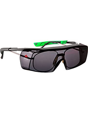0356a7db528 NoCry Tinted Over-Spec Safety Glasses - with Anti-Scratch Wraparound  Lenses