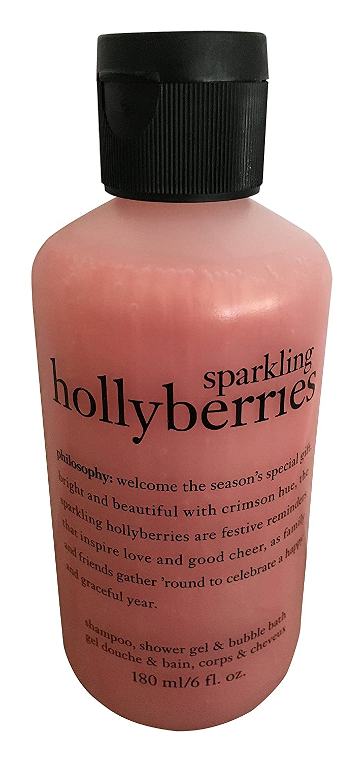 by Sparkling Holly Berries Shower Gel --6oz by Philosophy B01GBKKHBE