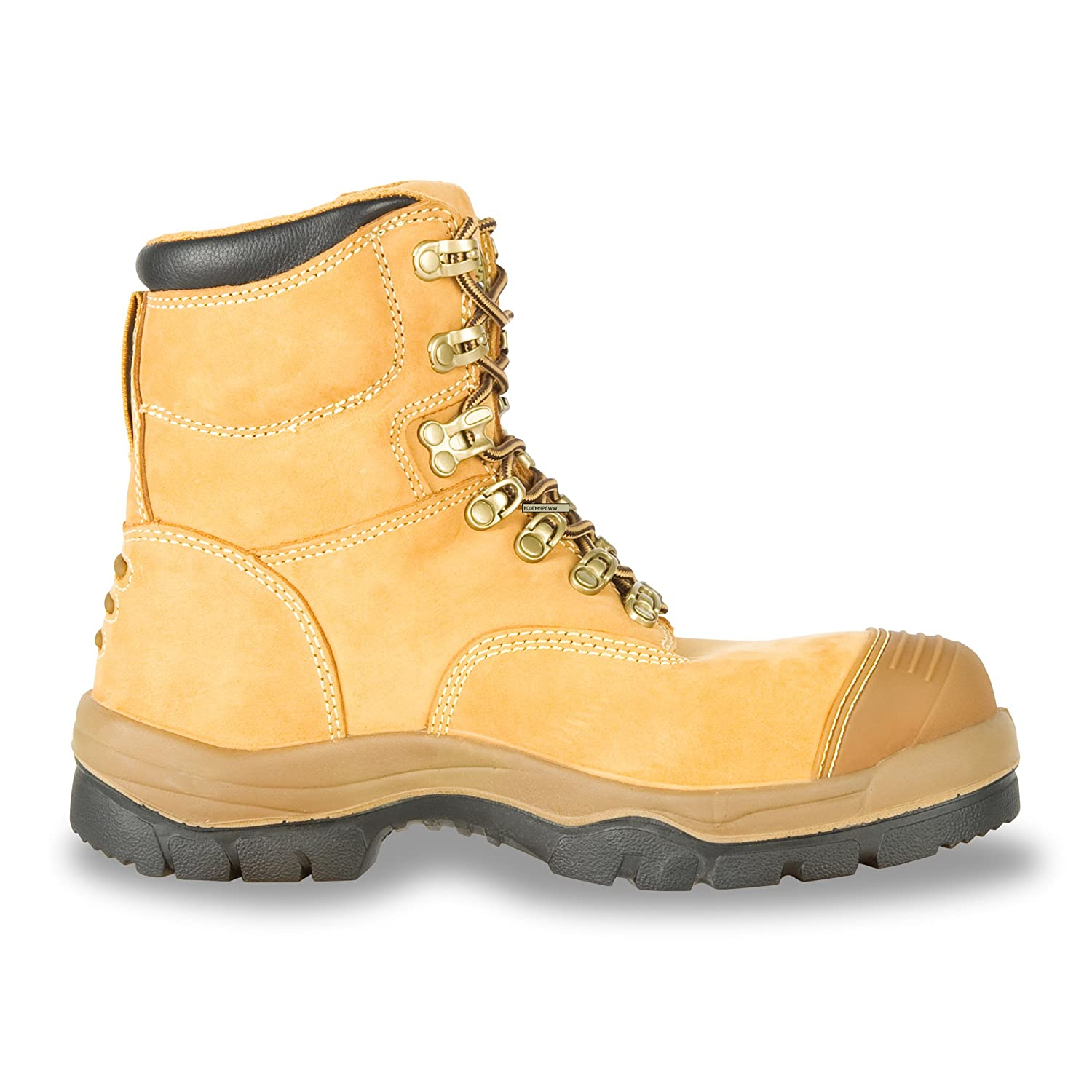 Oliver 55 Series 6 Leather Mens Steel Toe Work Boots Wheat Oliver Footwear 55232-TN-130 55232