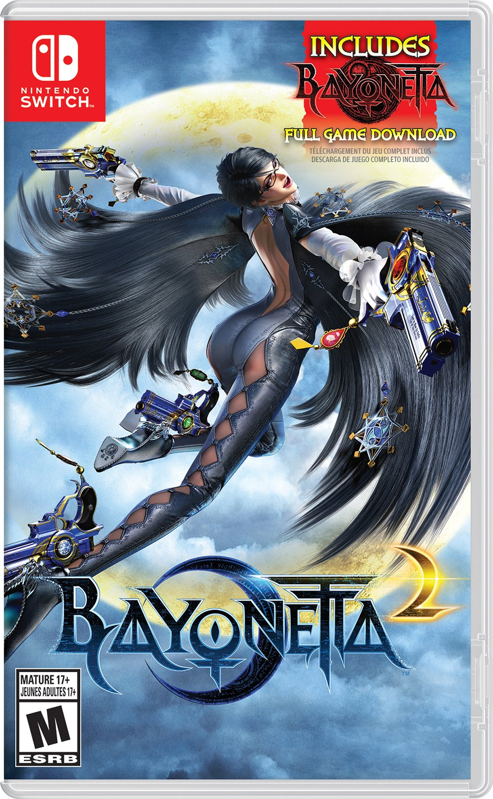 Bayonetta 2 (Physical Game Card) + Bayonetta (Digital...