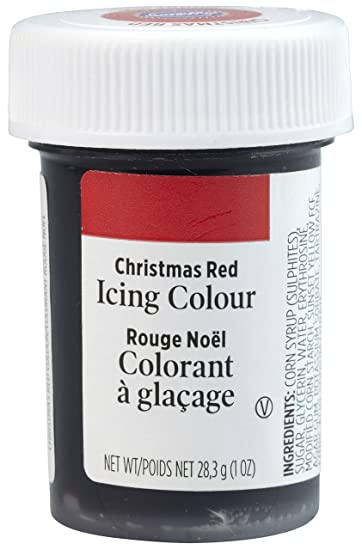 Wilton Icing Colors 1oz-Christmas Red