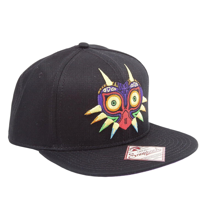Zelda - Casquette snapback baseball Zelda masque de Majoras noir Elbenwald