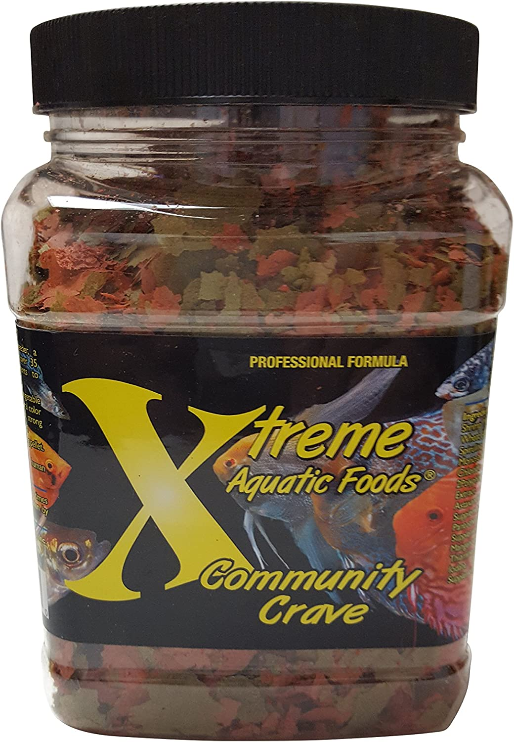 Xtreme Aquatic Foods 2218-E Community Crave Flake, 3 oz