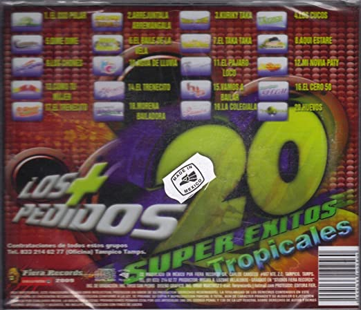 FIERA RECORDS CD 2009 - Los + Pedidos, 20 Super Exitos ...