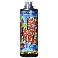IronMaxx Low Calories Sportsdrink, Kirsche – Kalorienarmes Sportgetränk mit Carnitin, Vitamin B & Nährstoffen für eine vitalisierende & erfrischende Wirkung – 1er Pack (1 x 1 l)