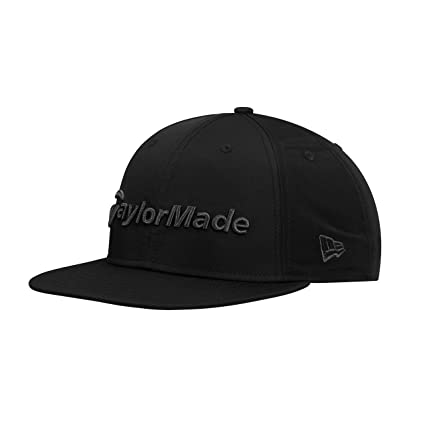 TaylorMade 2019 Performance New Era 9Fifty Hat Adjustable Mens Snapback  Golf Cap Black f3beeaa3f4de