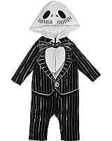 Baby Boys' Jack Skellington Costume Coverall