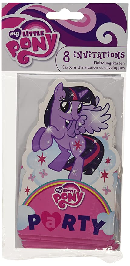 Amscan International - Cubertería para Fiestas My Little Pony (998473)