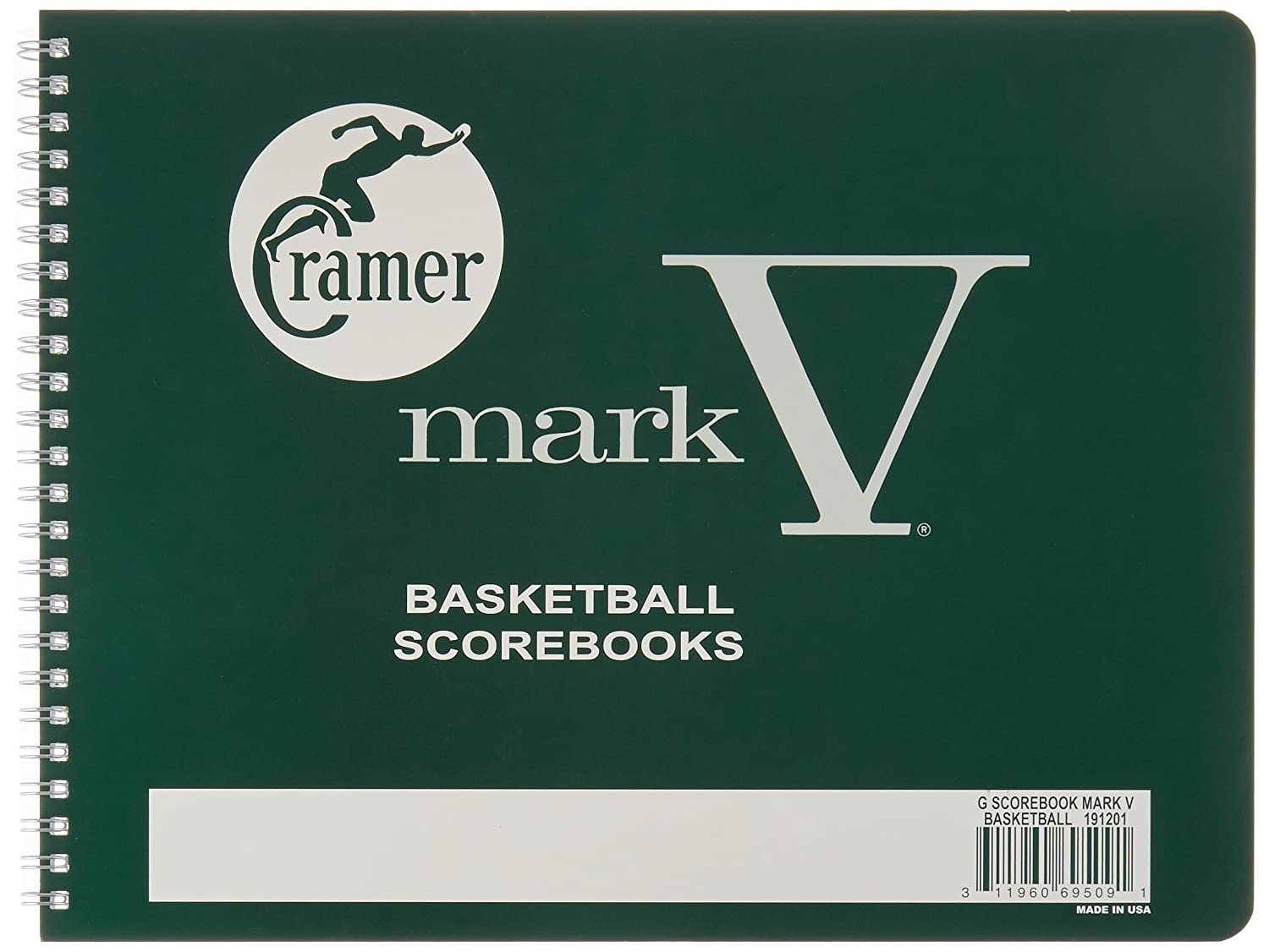 Cramer Scorebook, Mark V, Basketball 191201
