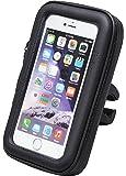 WILDER 防水ケース スマホ ホルダー スマホ防水ケース クロスバイク スマホ カーナビ バイクホルダー スマホケース ロードバイク 自転車 バイク iPhone6 iphone6s iPhone7 取扱説明書付き M L