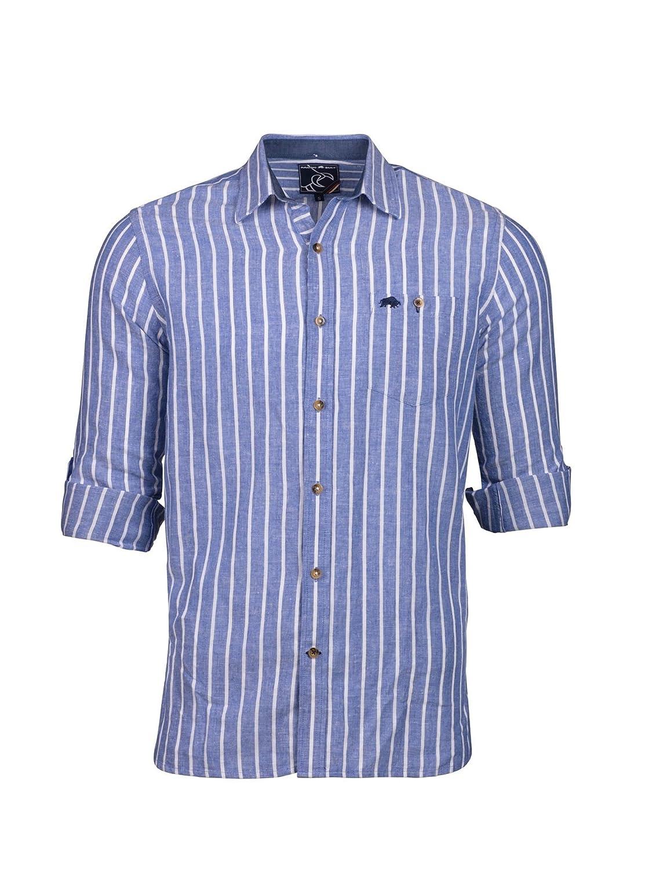 TALLA S. Raging Bull Camisa Formal - para Hombre
