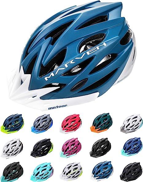 meteor Casco Bicicleta - Helmet Ciclismo para Jóvenes y Adulto Bicicleta Patineta Skate Patines Monopatines - Bici Accesorios - El diseño Ligero - ...