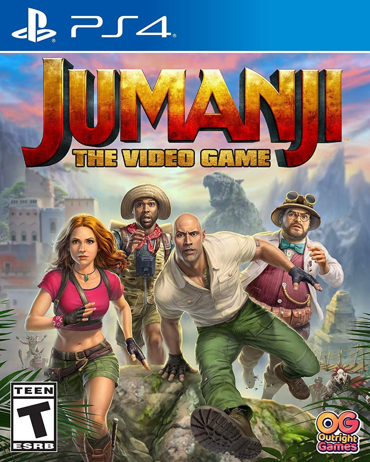 Jumanji: The Video Game for PlayStation 4 [USA]: Amazon.es: Bandai ...
