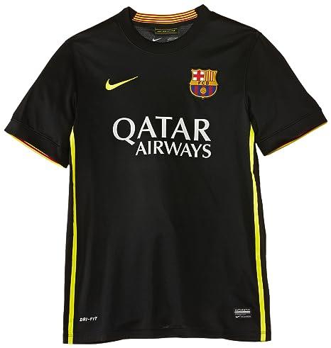 Nike Football Club Barcelona Third Replica - Prenda, color negro/amarillo, talla XL