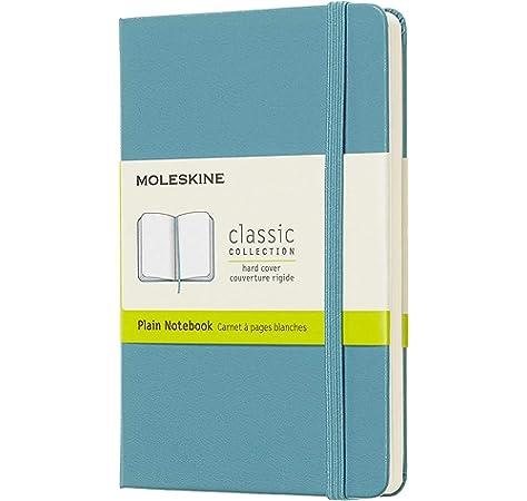 Moleskine 944377 - Cuaderno de tapa dura, liso, bolsillo, rojo ...
