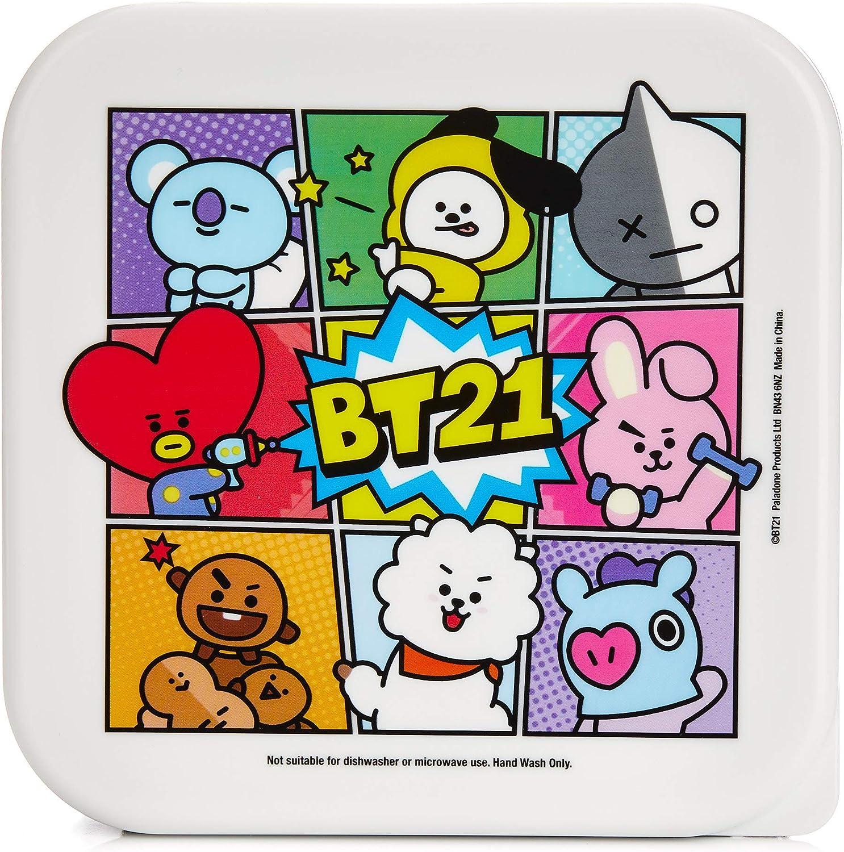 Line Friends BT21 Official Merchandise - Set of 3 Snack Boxes