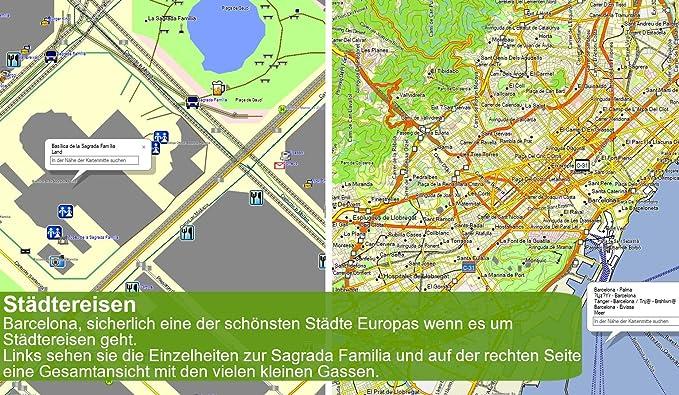 Europa - Mapas topográficos para Actividades al Aire Libre, para ...