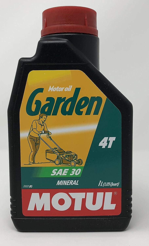 MOTUL 102787 Garden 4T SAE 30 1 litro - Aceite para Motor de cortacésped.: Amazon.es: Coche y moto