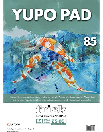 Watercolour Rough Surface Pad Drawing Artist Paper GUMMED Book A6-148,5x105 mm 300gsm