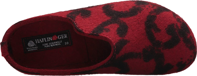 Haflinger Womens Fashion B01MV3MEPK 41 M EU Red