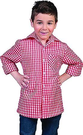 confettery – Cuadros Camisa de manga larga Disfraz Para Niños, 116 – 170, 6 – 15 Años, multicolor: Amazon.es: Juguetes y juegos