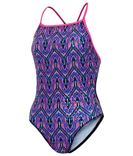 Maru Girls Boogie Nights Speed Back Swimsuit Purple