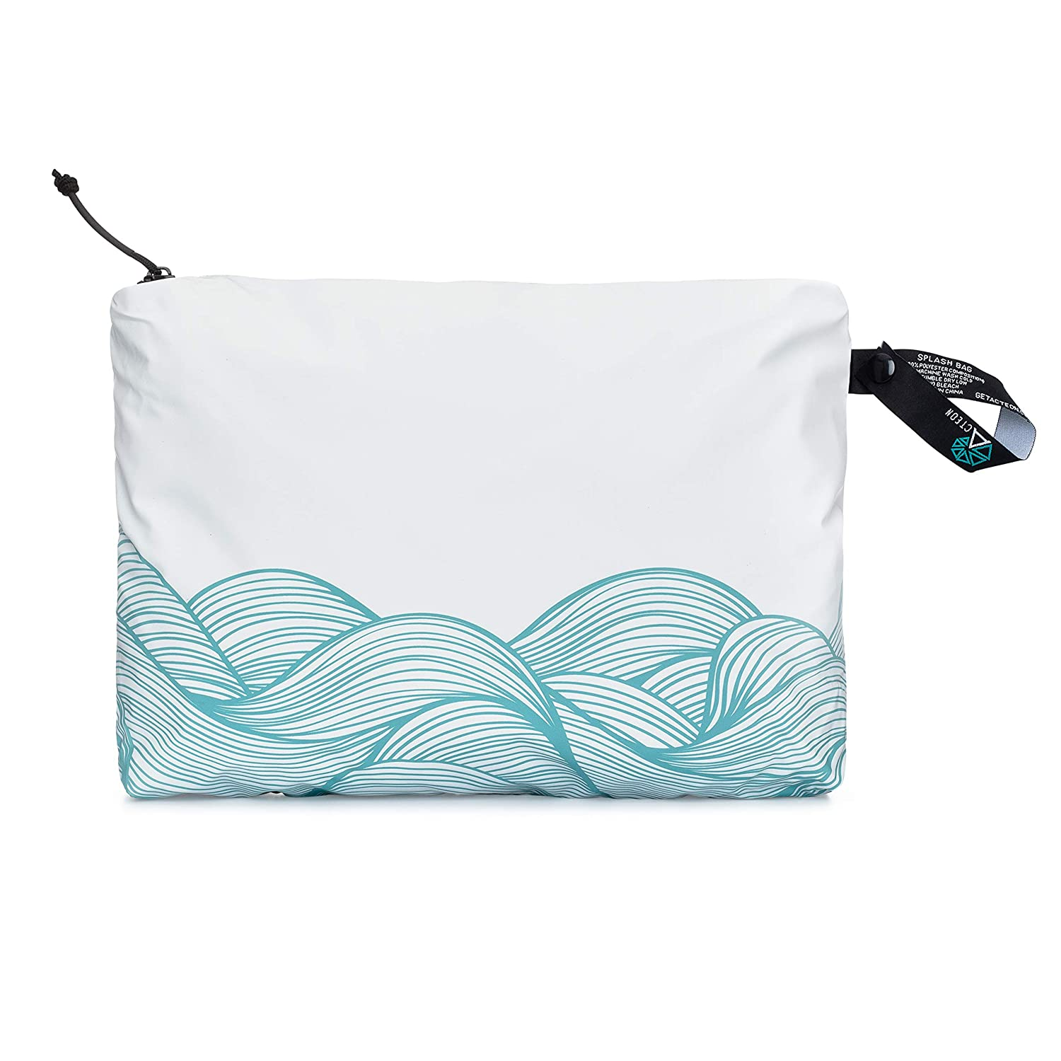 Acteon Wet Bag Multipurpose Wet Dry Bag - for Cloth Diaper, Swimsuit & Travel - Water Resistant Wet Bags - Reusable with Strong Zipper Perfect for Wet Clothes, Toiletries, Beach, Pool & Gym