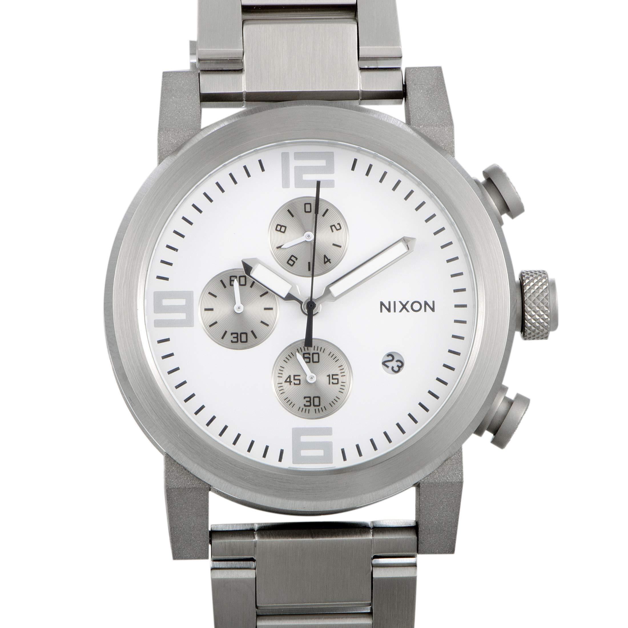 Nixon Men's Quartz Watch Ride SS A347100-00 with Metal Strap by NIXON
