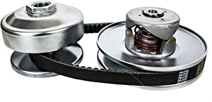 """40 Series Torque Converter Kit Clutch Pulley 1"""" Driver 3/4"""" Driven 8 to 16HP Belt replaces Comet 40D Series Torq-A-Verter models 209133A, 209133, 209139A, 209139, 209151A, 209151 and Manco 2432"""