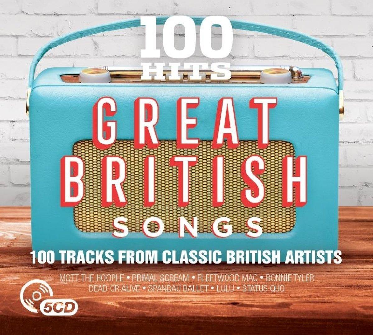 100 Hits Great British Songs Amazon Music