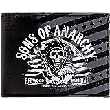 SONS OF ANARCHY - Logo 2 - Oficial Cartera - Negro, OS ...