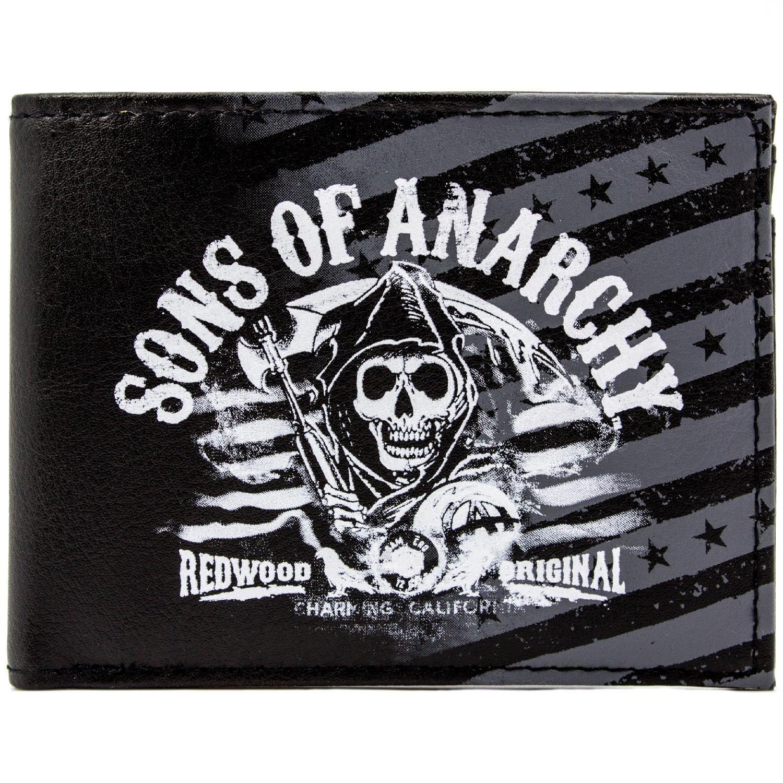 Cartera de Fox Sons of Anarchy Secoya Negro 28821