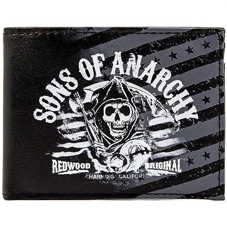 Cartera de Fox Sons of Anarchy Secoya Negro