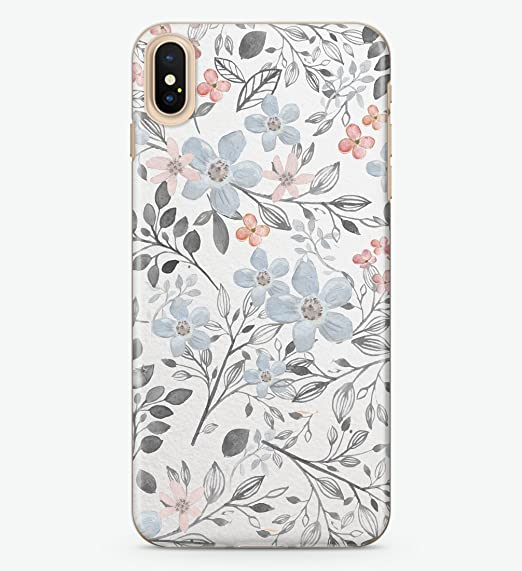 online store 01915 1251c Amazon.com: Hanogram Floral - iPhone X Case: Cell Phones & Accessories