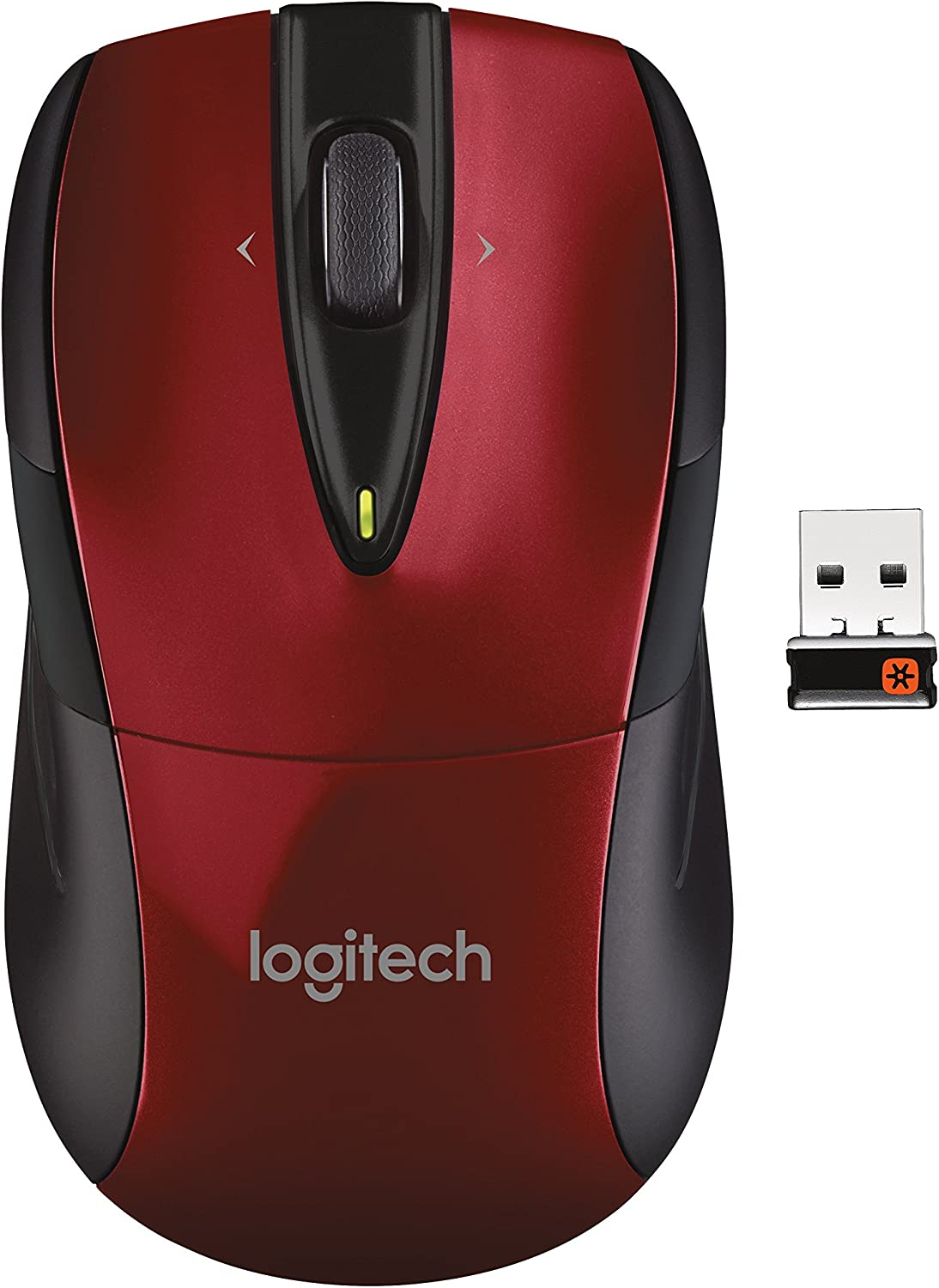 Logitech Wireless Mouse M525 - Red/Black