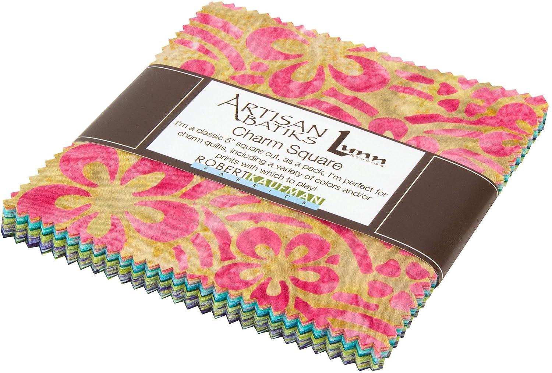 Lunn Studios Artisan Batiks Asian Legacy 5 42 5-inch Squares Charm Pack Robert  Kaufman CHS-457-42 by Robert Kaufman Fabrics: Amazon.co.uk: Kitchen & Home